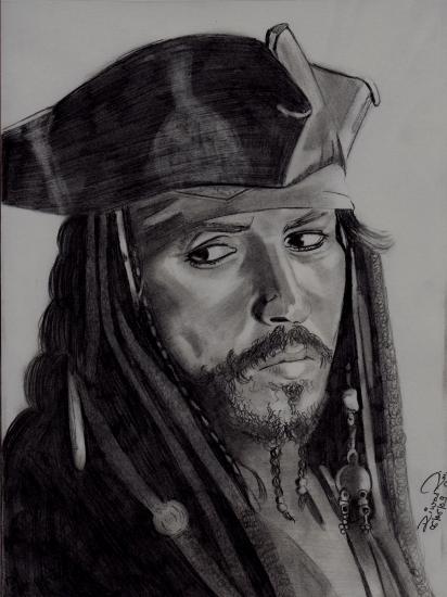 Johnny Depp par Diwas